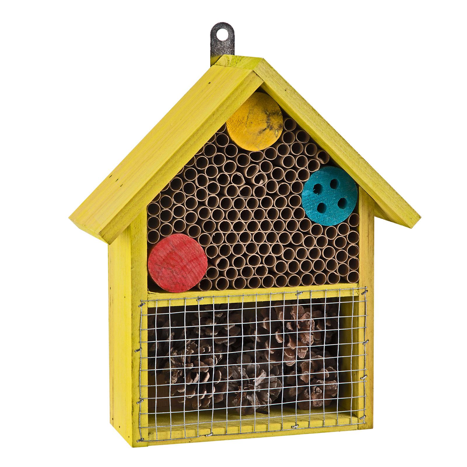 Dema Insektenhotel Willie Nisthilfe Insekten Garten aus Holz 41380