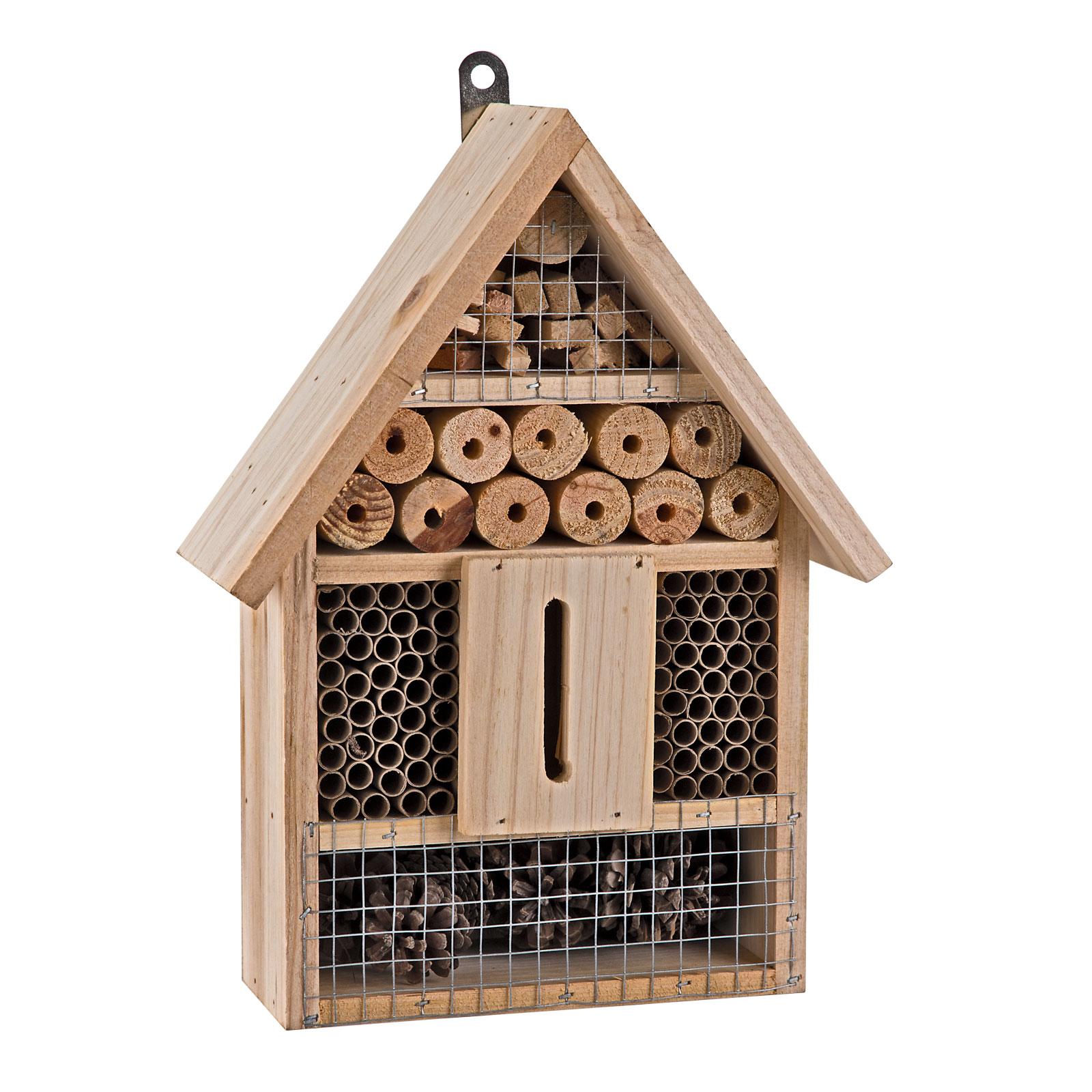 Dema Insektenhotel Rosie Nisthilfe Insekten Garten aus Holz 41381