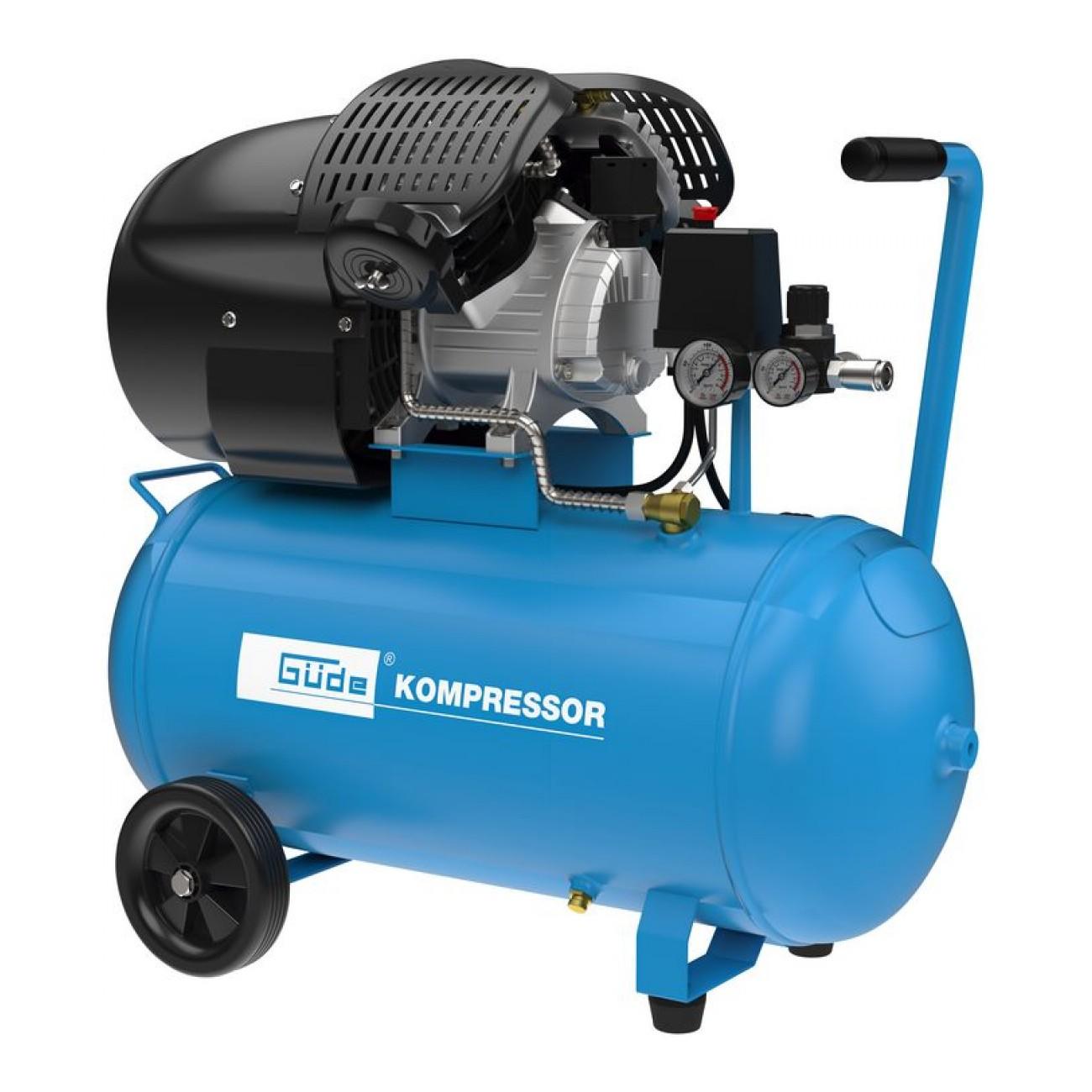 Güde Druckluft Kompressor 10 bar 50L 405/10/50 Luftdruck ölgeschmiert 50131