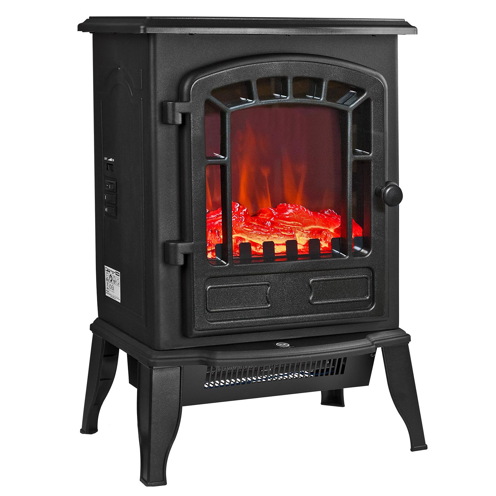 dema Elektrokamin Kamin Kaminofen Ofen Feuer elektrisch Heizung Heizlüfter 2000W 61090