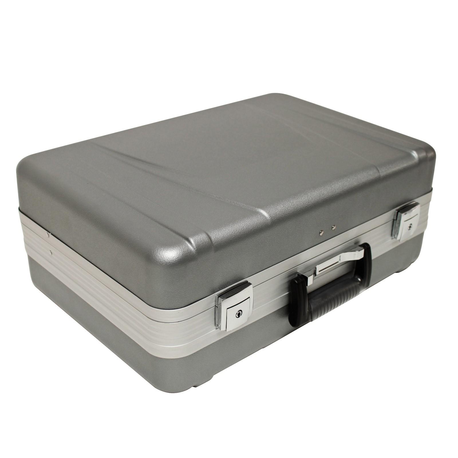 Dema Hartschalen-Koffer Werkzeugkoffer ABS 6+ Elektrikerkoffer leer 20855