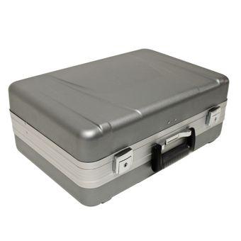 Hartschalen Werkzeugkoffer / Servicekoffer ABS grau, abschließbar – Bild $_i