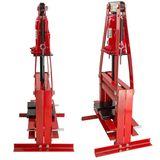Werkstattpresse 6 Tonnen + Druckstücksatz 10-teilig Hydraulik