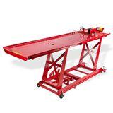 Motorradhebebühne hydraulisch rot bis 450kg