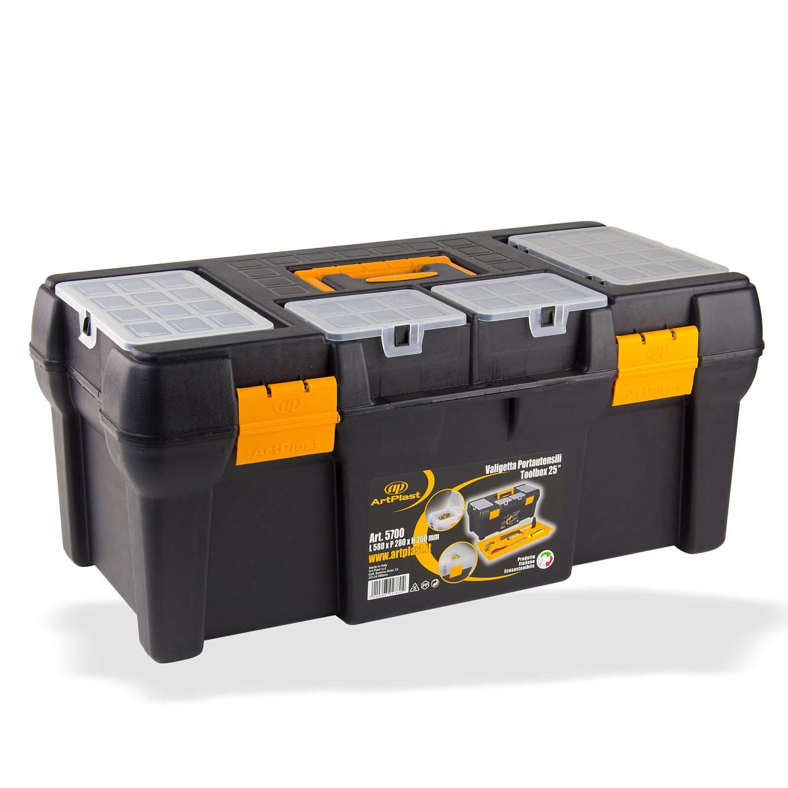 Dema Kunststoff Werkzeugkoffer / Werkzeugbox Big ArtPlast-5700 15051