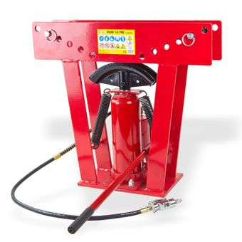 Rohrbiegemaschine / Rohrbiegegerät 16 t hydraulisch pneumatisch