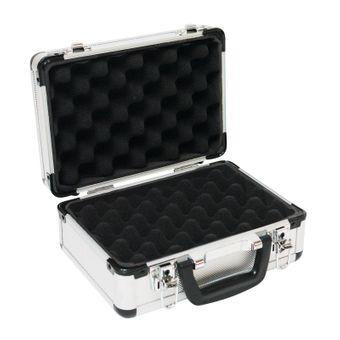 Aluminium Koffer / Waffenkoffer / Pistolenkoffer mit Schaumstoff – Bild $_i