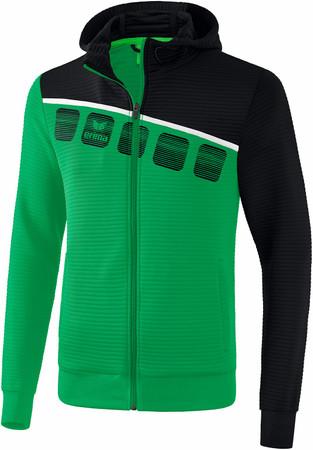 5-C Trainingsjacke mit Kapuze – Bild 5