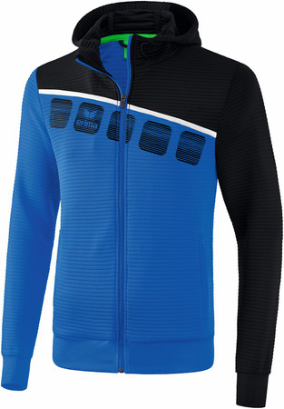 5-C Trainingsjacke mit Kapuze