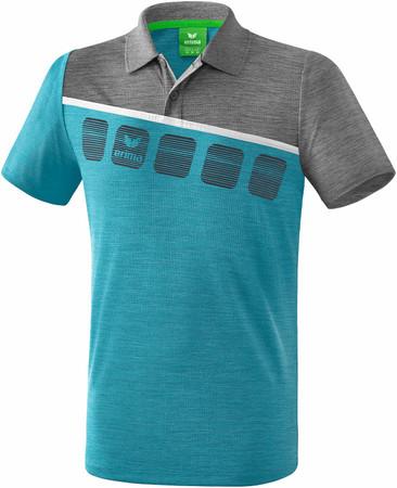 5-C Poloshirt – Bild 6