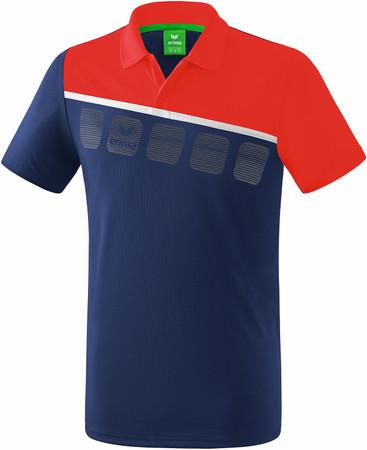 5-C Poloshirt – Bild 7