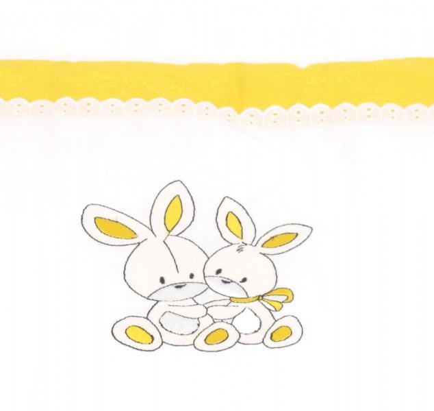 Nestchen Hasenpärchen in gelb von HOBEA-Germany
