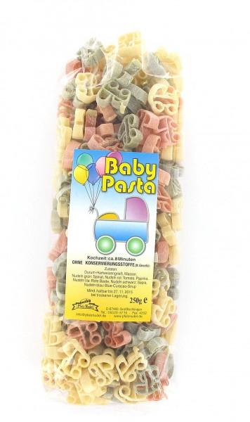 Nudeln in Kinderwagenform