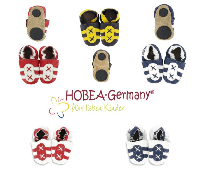 Lauflernschuhe Krabbelschuhe Turnschuh von HOBEA-Germany