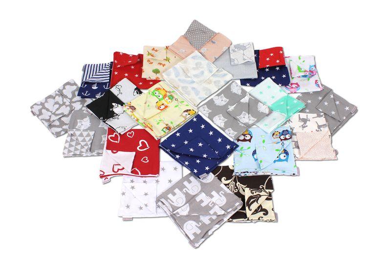 Kissenbezug 50 x 50 cm aus Baumwolle mit Reißverschluss
