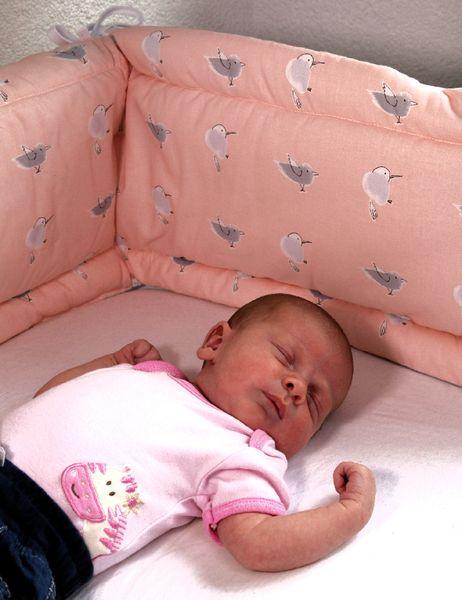Nestchen für Babybetten in verschiedenen Designs von HOBEA-Germany
