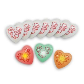 10x Love messenger flashing heart – Bild 2