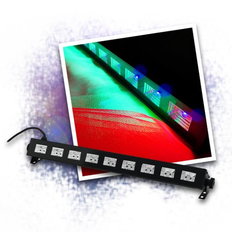 LED UV Bar - 9 LEDs