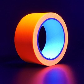 UV Neon-tejp orange - 20 m – Bild 3