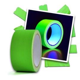 UV Neon-tejp grön - 20 m