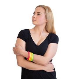 12 Neon UV bracelets – Bild 1
