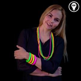 12 Neon UV bracelets – Bild 2