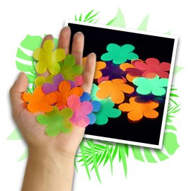 Decorative Hawaiian flowers - Table confetti - 900 pieces – Bild 1