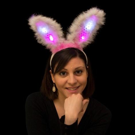 12x LED bunny-oren