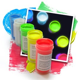Eventlights NEON UV paint 5 x 50 ml