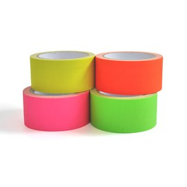Neon UV tape - 4 colour set – Bild 2