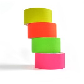 Neon UV tape - 4 colour set – Bild 3