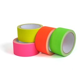 Neon UV tape - 4 colour set – Bild 4