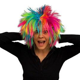 3x Tenczowa peruka w stylu punkowym – Bild 2
