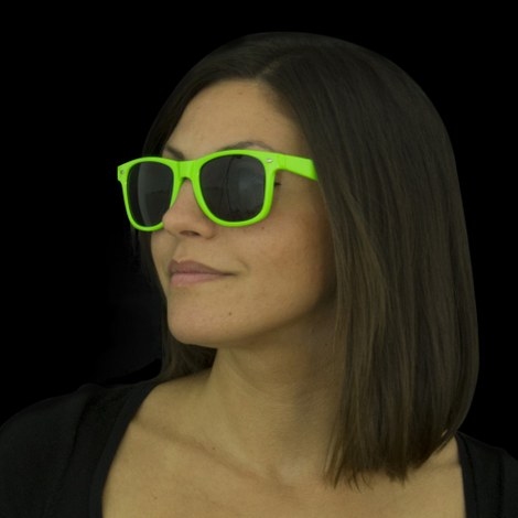 Neon UV Sunglasses green
