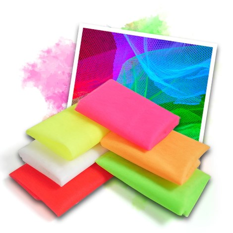 Neon UV tulle - 6 colours