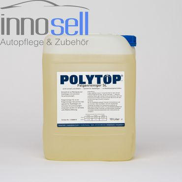 Polytop Felgenreiniger SL, sauer, Konzentrat für Stahlfelgen - 10 L – Bild 1