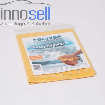 Polytop Autotuch Leder Kunstleder Pflegetuch super saugfähig – Bild 1