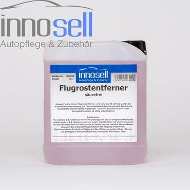 Flugrostentferner säurefrei entf. Flugrost auf Lack Glas Gummi Kunststoffe - 5 L