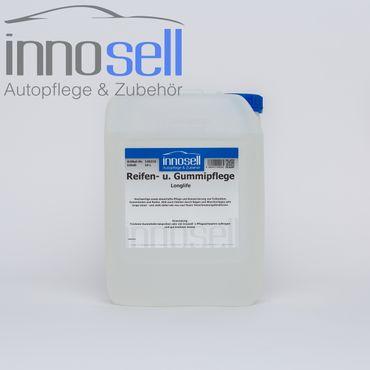 Innosell Reifen- und Gummipflege LONGLIFE Reifenglanz Reifenschwarz - 10 L – Bild 1