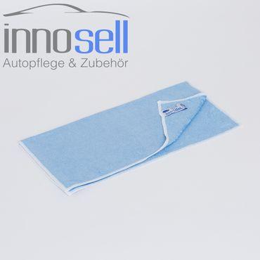 Aquaclean Microfaser PREMIUM SENSATION - Top Qualität blau - 10 Stück - 40x40 cm – Bild 2