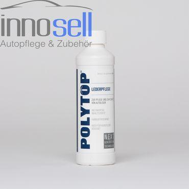 Polytop Lederpflege Profi Lederreiniger, cremig, mit Lanolin - 500 ml