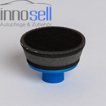 Innosell Polierteller Klett  70 mm M14 soft mit Schaum u. Gummi - Top Qualität – Bild 2