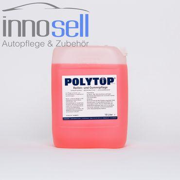 Polytop Reifen- und Gummipflege Kunststoffpflege Tiefenpfleger - 10 L – Bild 1