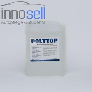 Polytop Kunststoffpflege Ultra Kunststoffversiegelung Außenpflege TOP - 10 L – Bild 1