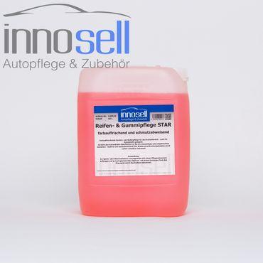 Innosell Reifen- und Gummipflege Star Kunststoffpflege Tiefenpfleger - 10 L – Bild 1