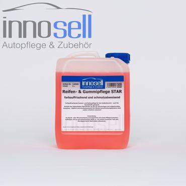 Innosell Reifen- und Gummipflege Star Kunststoffpflege Tiefenpfleger - 5 L – Bild 1
