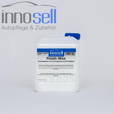 Innosell Finish-Wax Schnellpolitur Versiegelung Speedpolish Hochglanzfinish 5 L – Bild 1