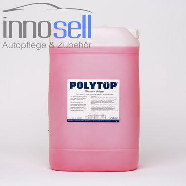 Polytop Fliesenreiniger Waschhallenreinger Felgenreiniger Kessel sauer - 25 L – Bild 1