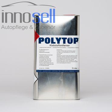 Polytop Klebstoffentferner Etikettenentferner Klebstoffresteentferner - 5 L – Bild 1
