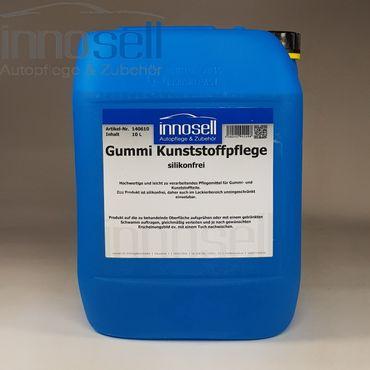 Innosell Gummi Kunststoffpflege Gummipfleger Reifenpflege SILIKONFREI matt 10 L – Bild 1